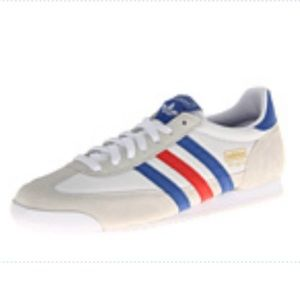 ADIDAS White/Collegiate Royal/Light Scarlet Dragon
